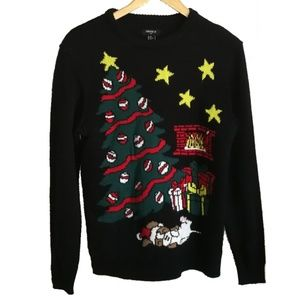 3/30$ MEN Ugly Christmas Tree Sweater, size SX